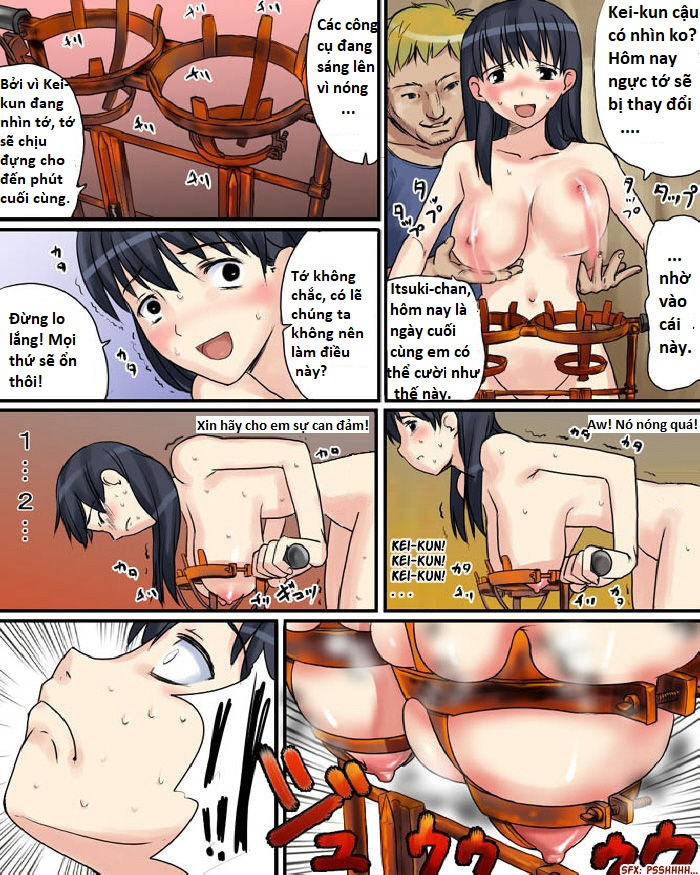 HentaiVN.net - Ảnh 10 - Another Breast Torture - Oneshot