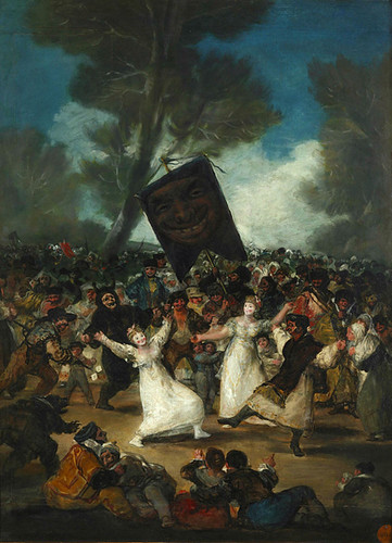 Goya Entierro de la Sardina 1812 1814 Uti 425