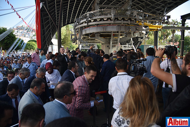 Alanya Teleferik resmi açılış töreni -17