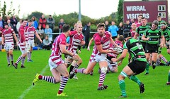 Wirral RUFC v Lymm Semi-Final Cheshire Vase 14/10/2017