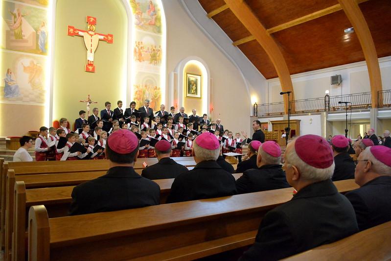 Koronka do Bożego Miłosierdzia w Sanktuarium Matki Bożej Latyczowskiej, 377. Zebranie Plenarne KEP, Lublin, 14.10.2017