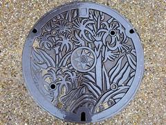 Yokosuka Kanagawa, manhole cover 2 (神奈川県横須賀市のマンホール2)