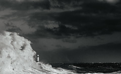 Ophelia engulfing the lighthouse