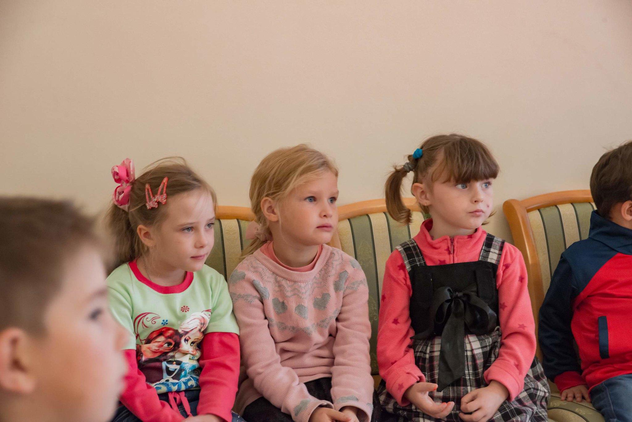 Воспитанники детского сада с. Лермонтово