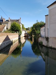 le Loing à Nemours - Photo of Souppes-sur-Loing