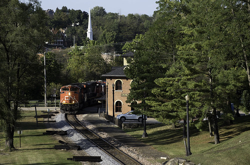 railroad train cn canadiannational galena illinois