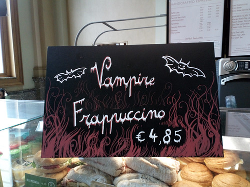 Vampire frappucino
