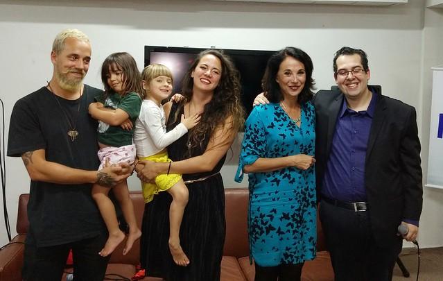 Gianni Dias, Violeta, Amora, Tiê, Thais Alves e Elmo Francfort