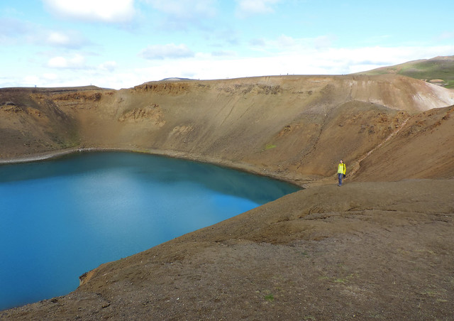 Víti Crater of Krafla, Northern Iceland