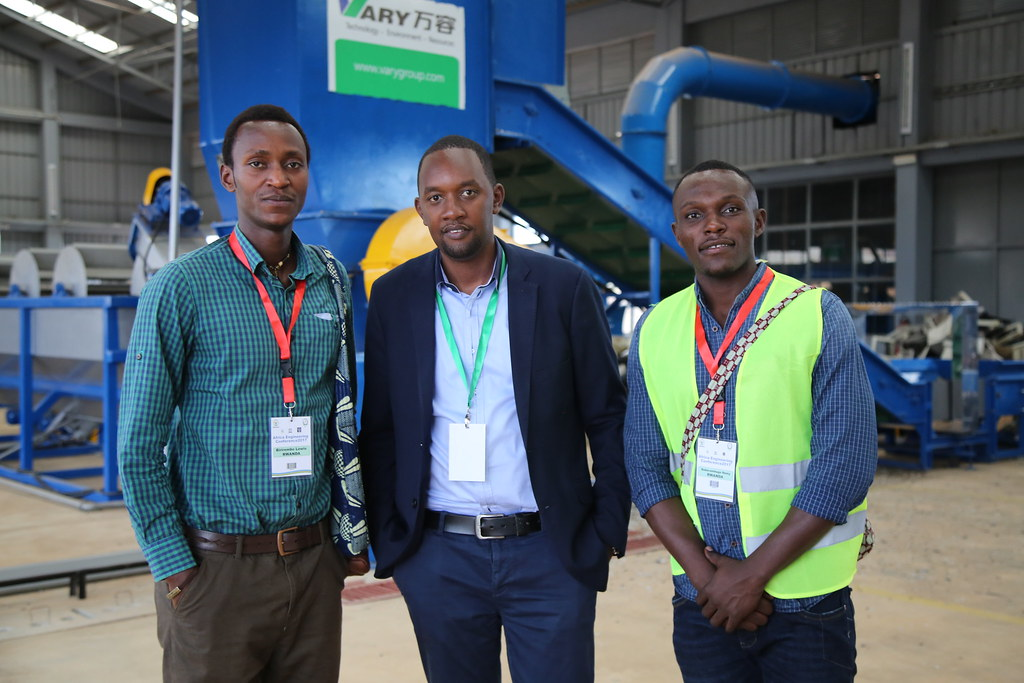 African Waste Management Experts Visit Rwanda E-Waste Recycling Facility - Rwanda Green Fund Investment