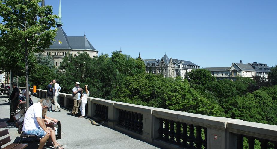 Uitzichtpunten in Luxemburg Stad, een echte bezienswaardigheid | Mooistestedentrips.nl