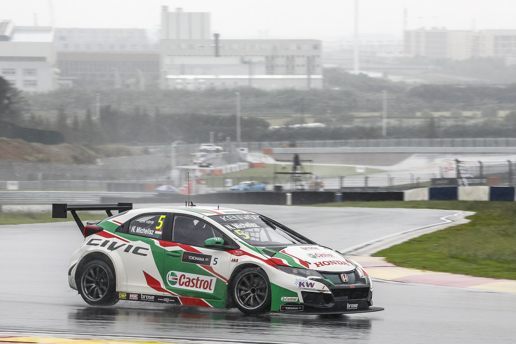 05 MICHELISZ Norbert (hun) Honda Civic team Castrol Honda WTC action   during the 2017 FIA WTCC World Touring Car Championship at Ningbo, China, October 13 to 15 - Photo Frederic Le Floc'h / DPPI