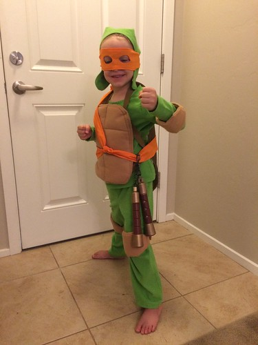 Ninja Turtle- Michelangelo
