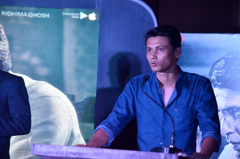 Director Sayantan Ghoshal in premier