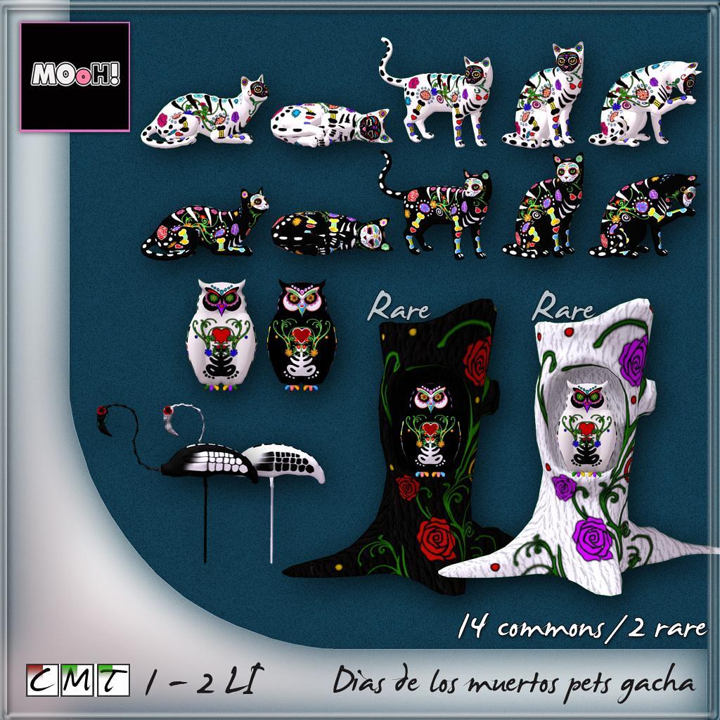 Dias de los muertos pets gacha - TeleportHub.com Live!