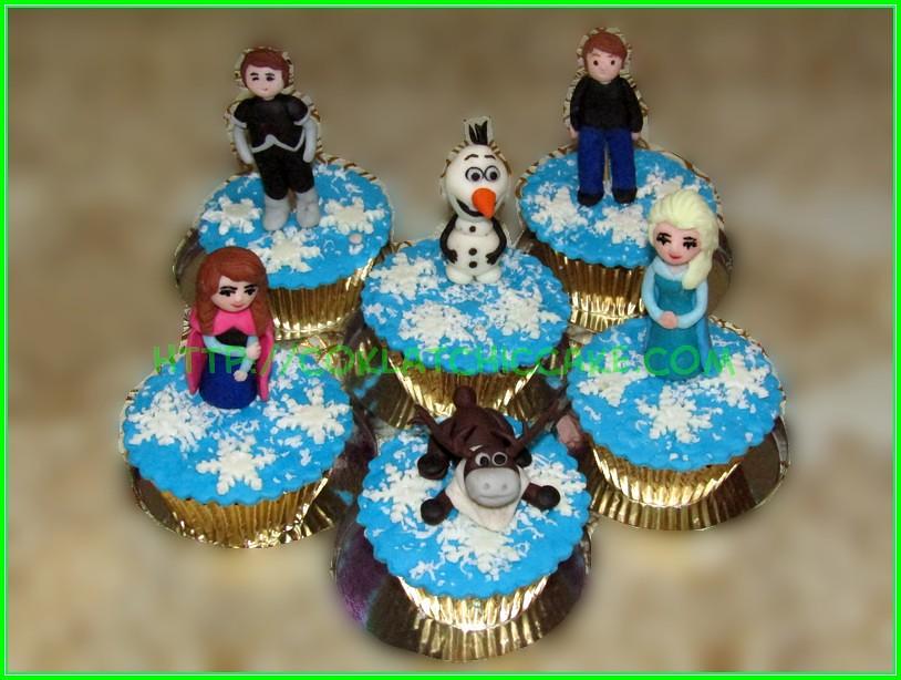 cupcake disney Frozen