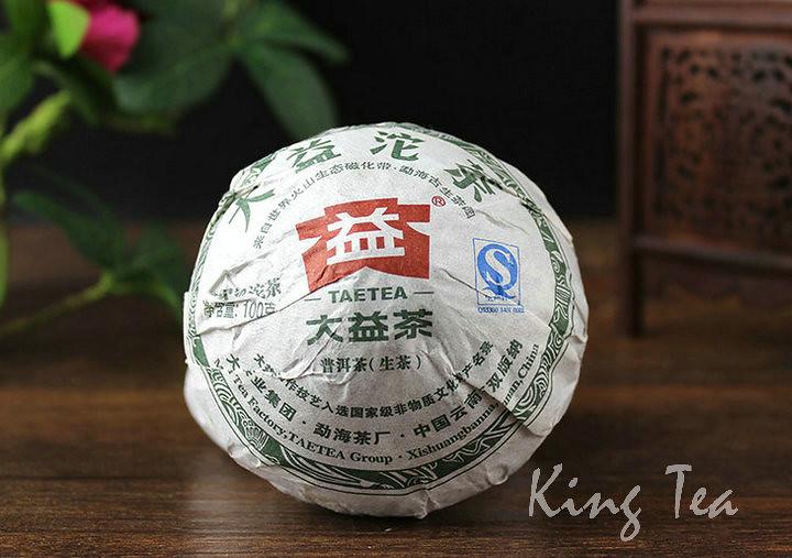Free Shipping 2012 DaYi TAE TEA JiaJiTuoCha 1st Grade Bowl Nest Tuo 100g China YunNan MengHai Chinese Puer Puerh Raw Tea Sheng Cha