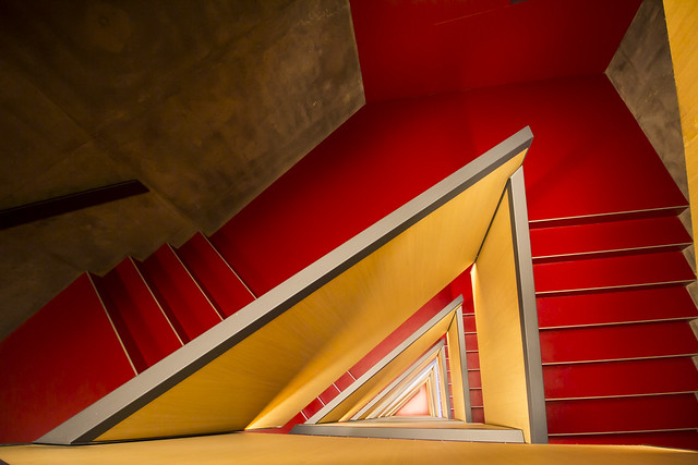Blood stairs