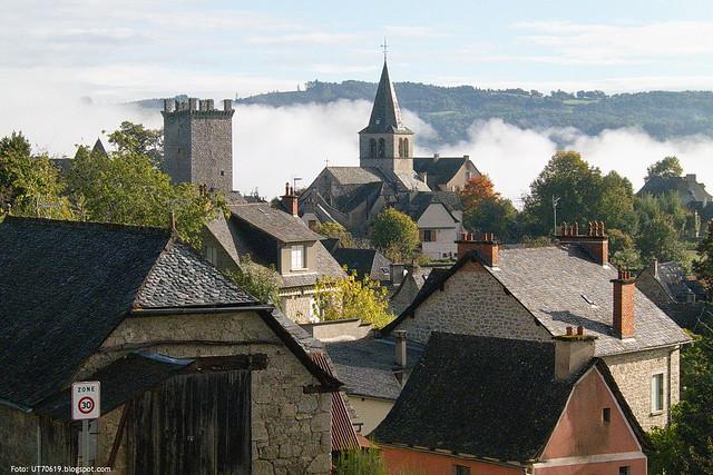 Dorf Nebel