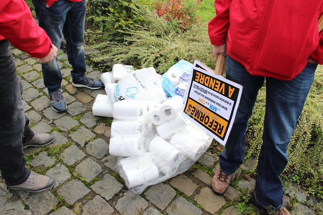Grève du 10 octobre 2017 Mons-Borinage