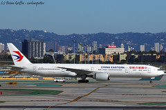 B-7365 | China Eastern Airlines | Boeing 777-39P(ER) | 20170228 | KLAX
