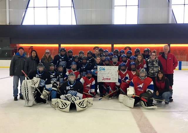 Oct 1, 2017 - Ring It On Calg, AB - Edm Elite and U19AA Strive support for Team Jenna