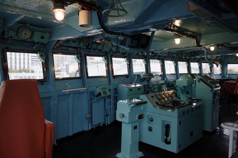 名古屋港南極観測船ふじブリッジ
