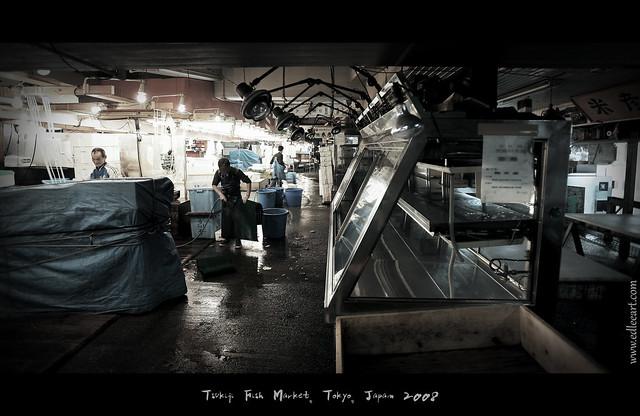 Tsukiji Fish Market - 2008