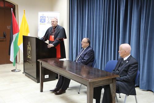 Cardinal Sandri Visit to BU
