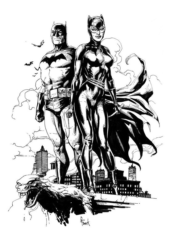 Batman and Catwoman by Gary Frank
