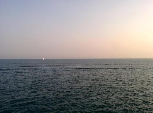 On the pier (7) #toronto #ontarioplace #pier #lakeontario #boats #latergram