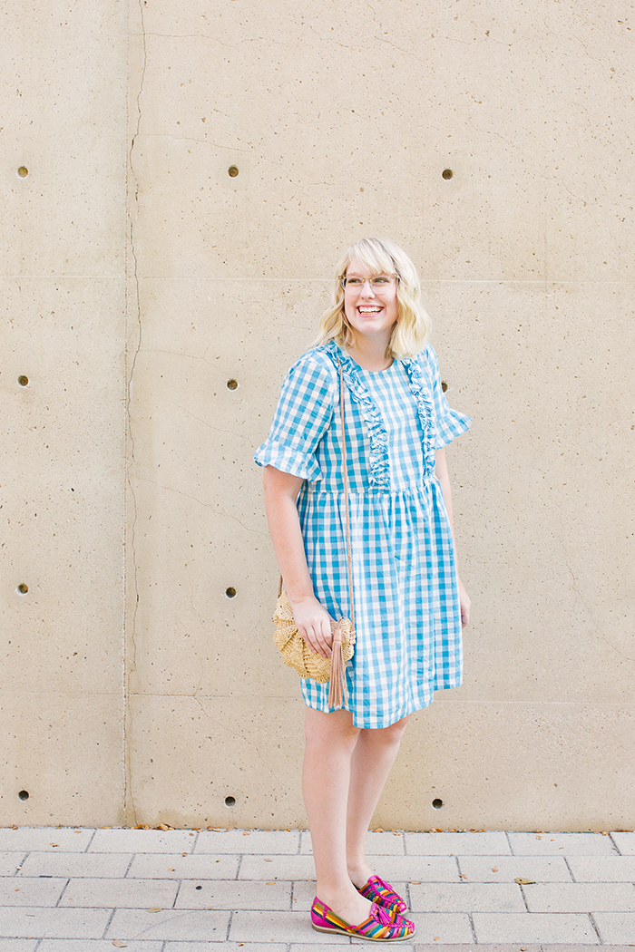 austin fashion blogger writes like a girl asos gingham dress2