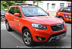 Brandweerzone Rand - post Kontich - Commandowagen