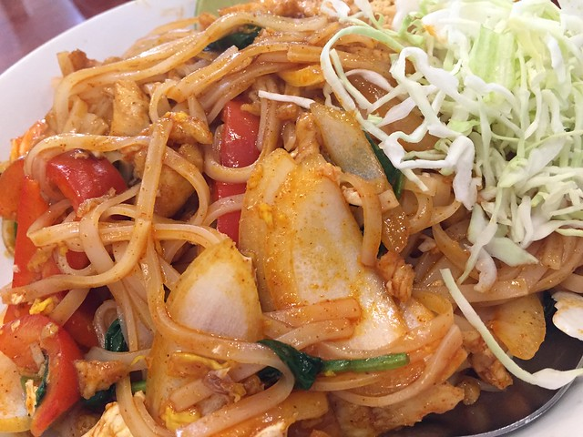 Spicy Shan Noodle Stir Fry