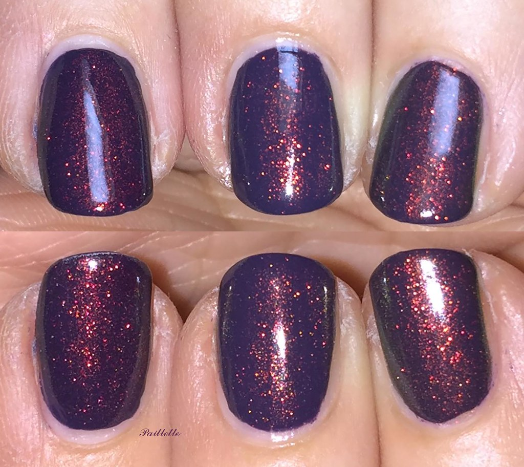 Paillette: a little nail polish journal: Red to Green Shifting ...