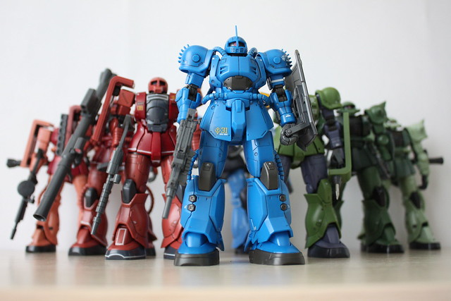 [HG] MS ZEON ARMY