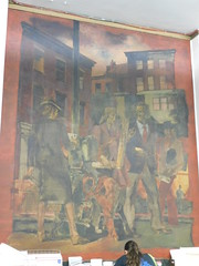 NYC (Madison Square), NY Post Office Mural
