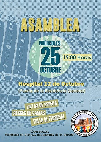 Plataforma Defensa Hospital 12 Octubre