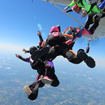 Female Michigan State Skydiving Record Attempts