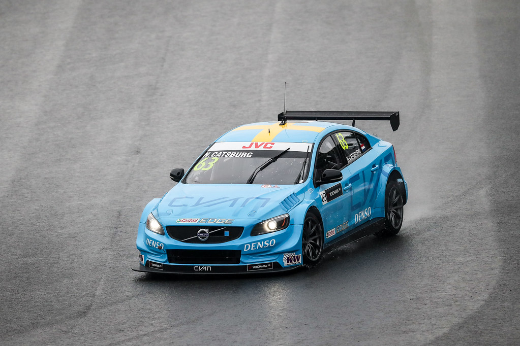 63 CATSBURG Nicky (ned) Volvo S60 Polestar team Polestar Cyan Racing action during the 2017 FIA WTCC World Touring Car Championship race at Motegi from october 27 to 29, Japan - Photo Alexandre Guillaumot / DPPI