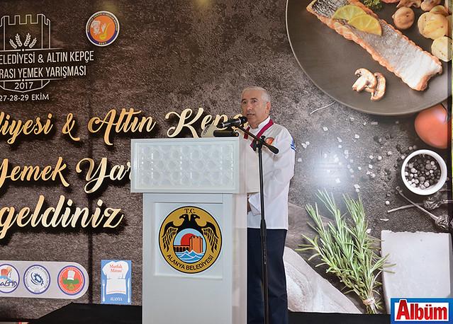 Altın Kepçe Aşçılar Derneği( AKPAD) Onursal Başkanı Mustafa Nail Özden