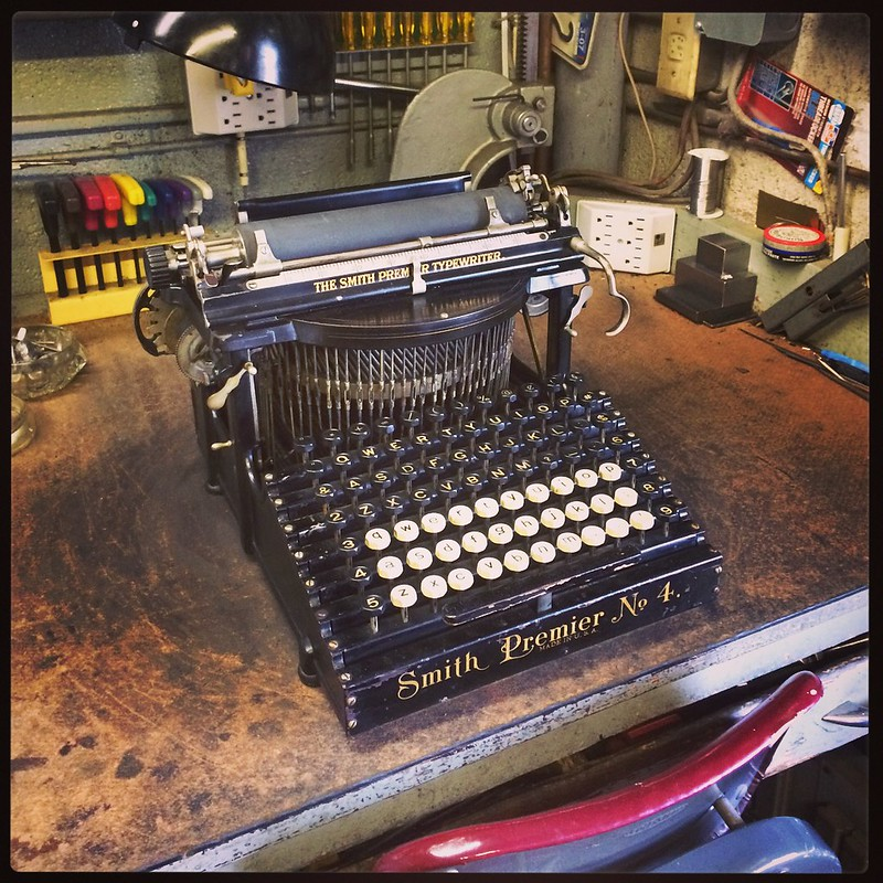 Typewriter Repair Shop Lansdale PA - Robert E. DeBarth