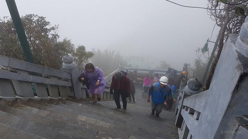 Sapa, Fansipan - foggy climb