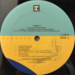 TAKE 6:DOO BE DOO WOP BOP!(LABEL SIDE-B)