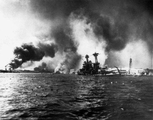 On This Day in History, December 7th 1941 Pearl Harbor.