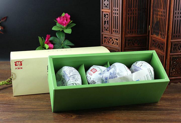 Free Shipping 2012 DaYi TAE TEA Panda Tuo Bowl China YunNan MengHai Chinese Puer Puerh Raw Tea Sheng Cha Premium