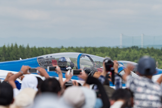 JASDF Chitose AB Airshow 2017 (109) Blue Impluse taxiing