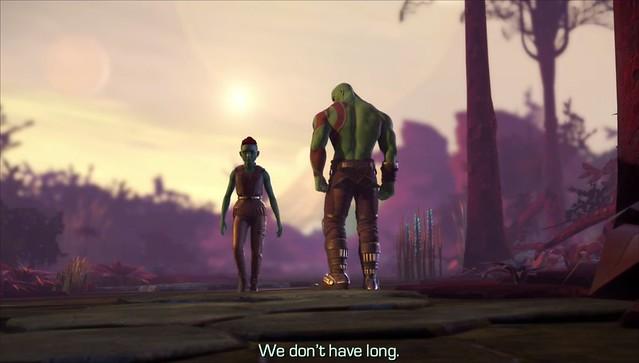 은하의 수호자 에피소드 4 - Drax와 그의 딸