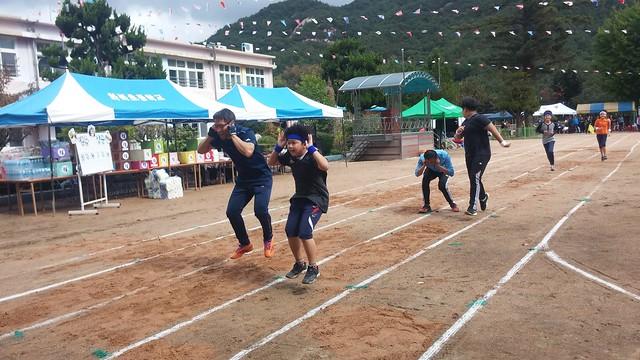 엎치락뒤치락 청백전 | 화북초등학교 가을운동회
