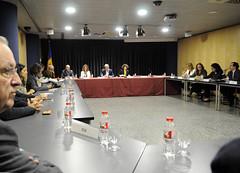 Reunió Pacte d'Estat amb agents econòmics i socials.16-10-2017